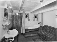 Lovcen ship first class cabin