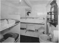 Lovcen ship second class cabin