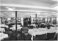 Lovcen ship first class dining room