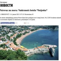 Petrovac hotel Sutjeska