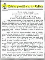Zetska Plovidba advertising