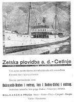 advertising Zetska Plovidba