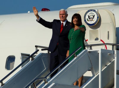 Michael Pence and Karen Pence in Montenegro